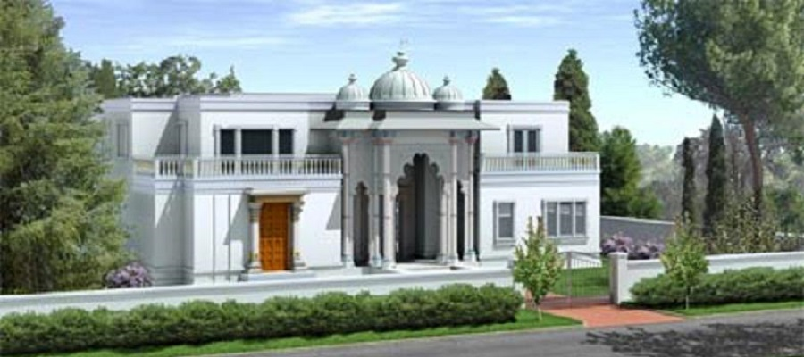 Future vision of Radha Govind Dham, New York