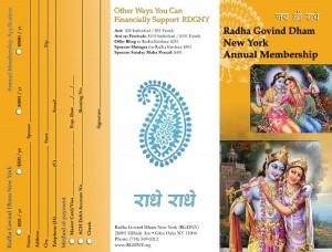 Radh Govind Dham membership