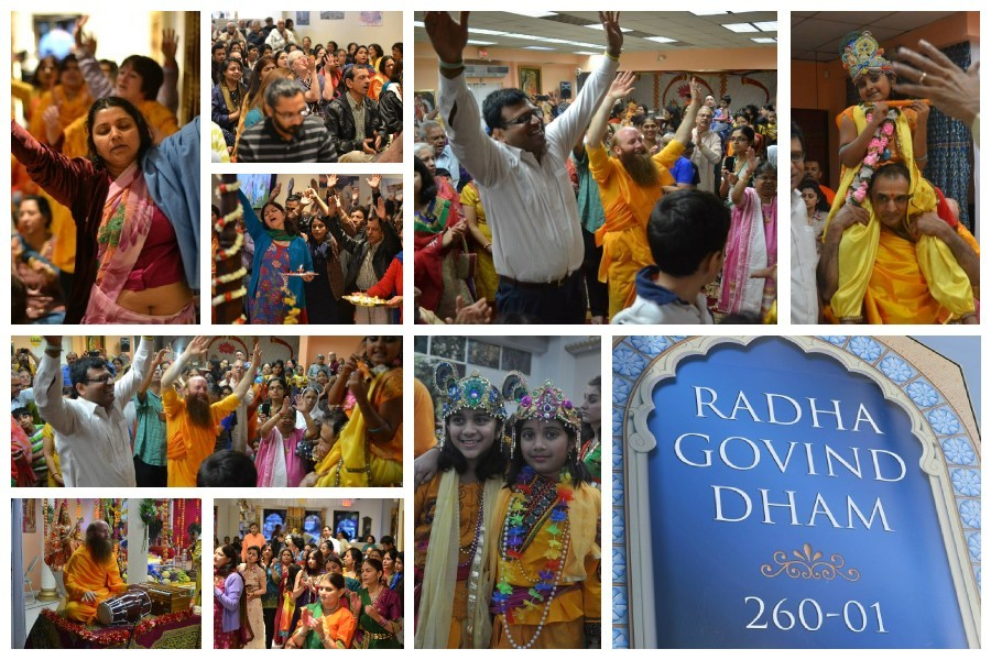 Radha Govind Dham New York Janmashtami 2014 celebration in Glen Oaks, Queens